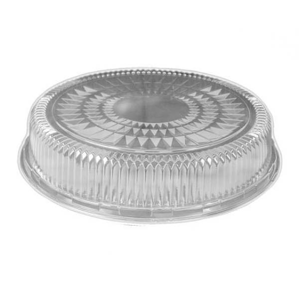 "Hfa - 4012DL - Dome Lid For 12"" Hfa Catering Tray, Round 25/Case"