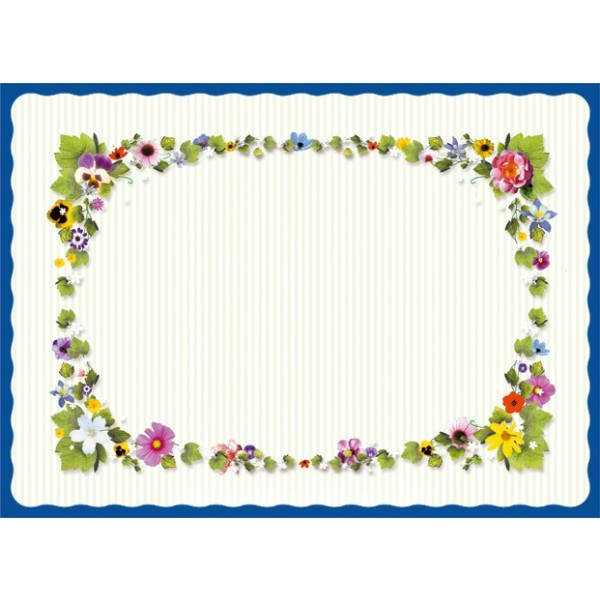 Sanfacon - 658 - Spring Time Placemats 1000/Pack
