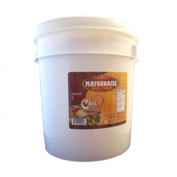 Chef Nutri Real Mayonnaise 15.14L