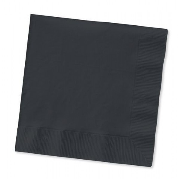 Hoffmaster - 180313 - Cocktail Napkins 2 Ply Black 1000/Case