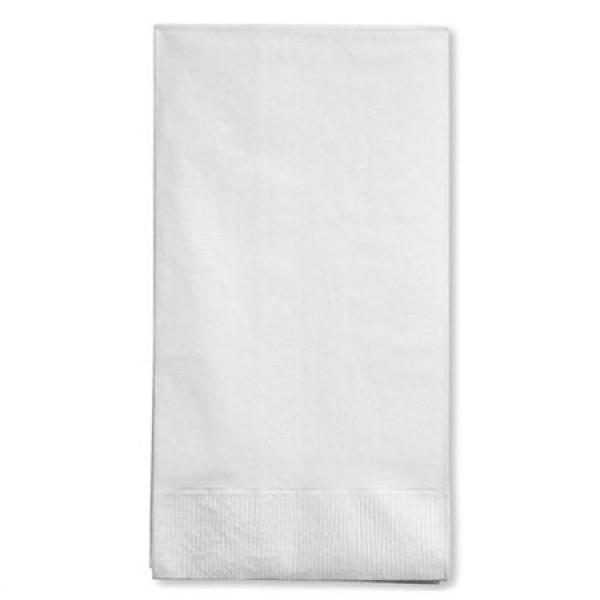 Chalet - DNAP30100 - Dinner Napkin 2 Ply - White 30X100/Case