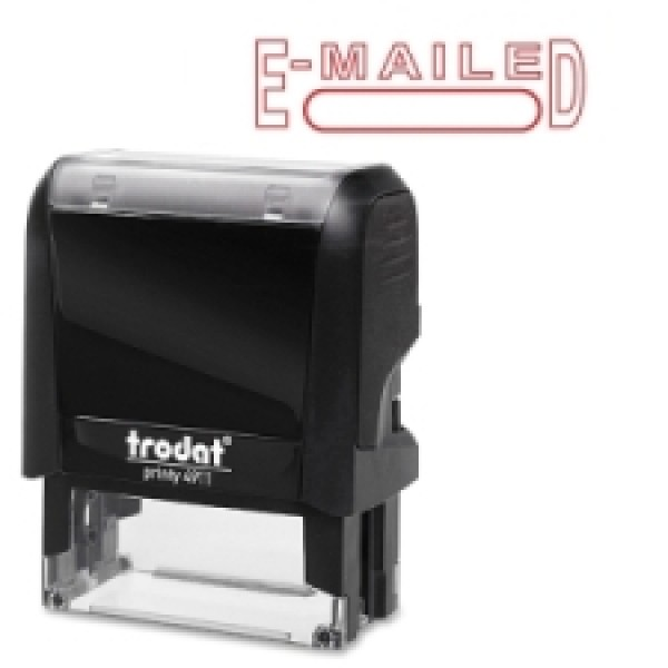 "Trodat - 11493 - 4911 Printy - ""Emailed"" Stamp - Each"