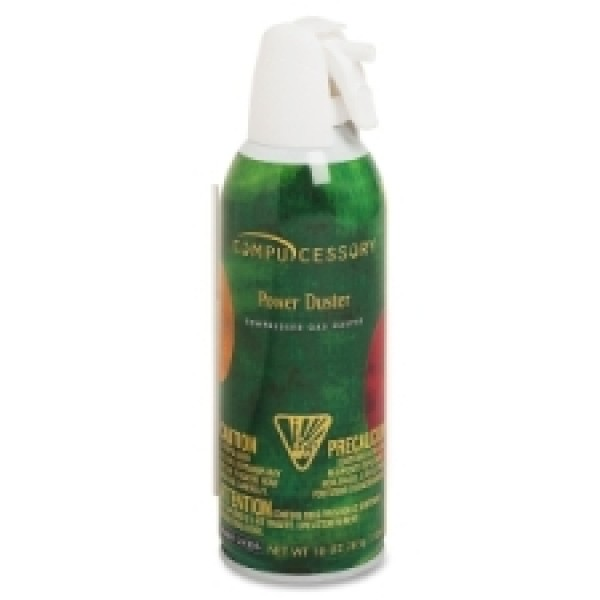Compucessory - 24305 - Power Duster 10oz Can Compressed Gas Duster - Each