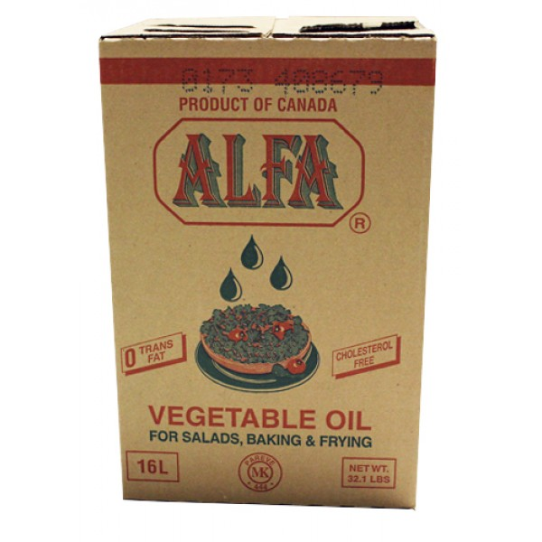 Alfa Vegetable Oil 16L