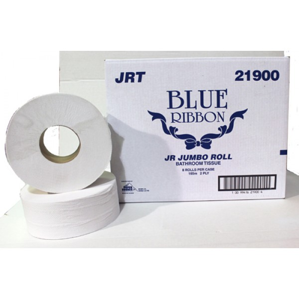 "Classique 2726 (old Blue Ribbon - 21900) - 3.3"" Core Jrt Jumbo Roll Tissue 2Ply 8/Case"