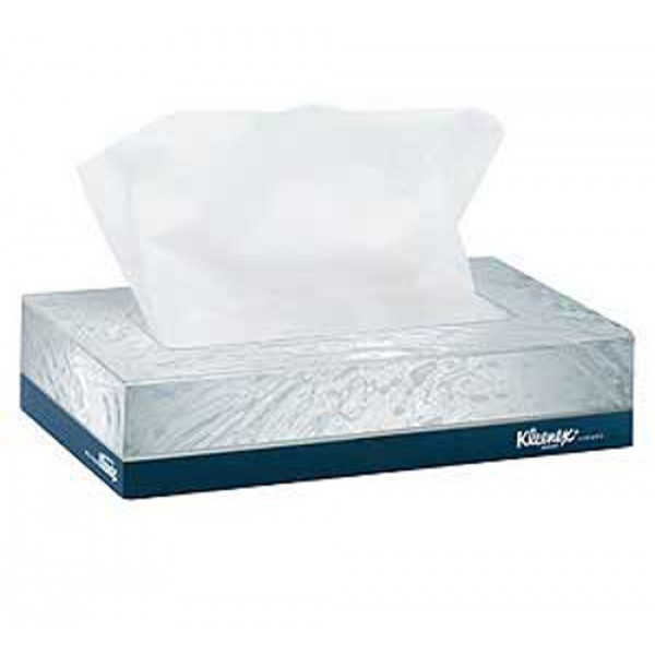Kleenex - 21606 - Facial Tissue 2Ply 125/Box 48/Case