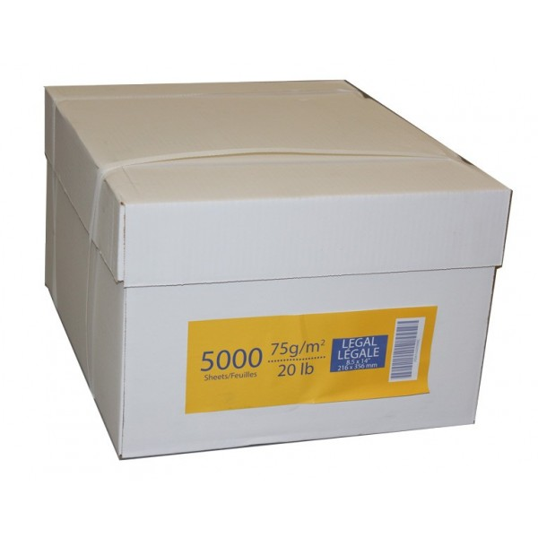 Generic - 8.5 X 14 - Printer/Copy Paper 5000/CASE