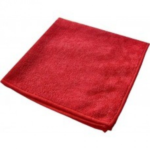 Amber - 14 x 14 Red - Micro Fibre Cloth 10/Pack