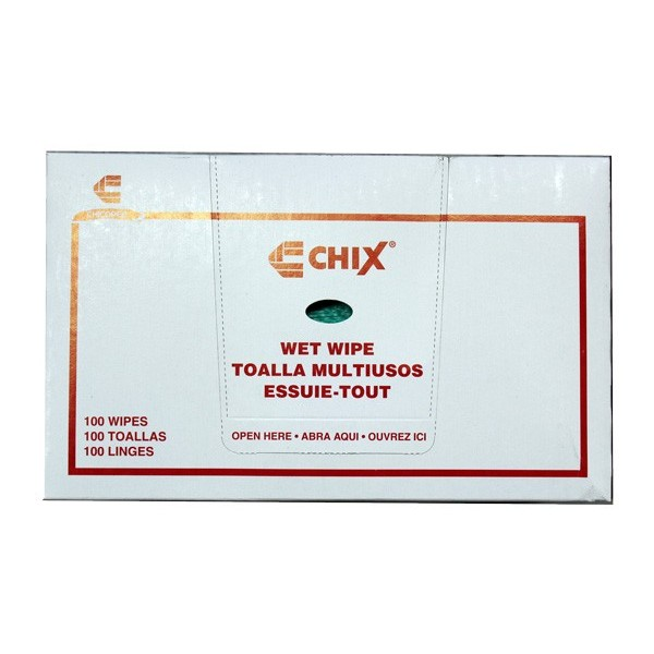 """Chix - 8312 - Green Foodservice Wipes 11.5""""X24"""" 100/Case"""