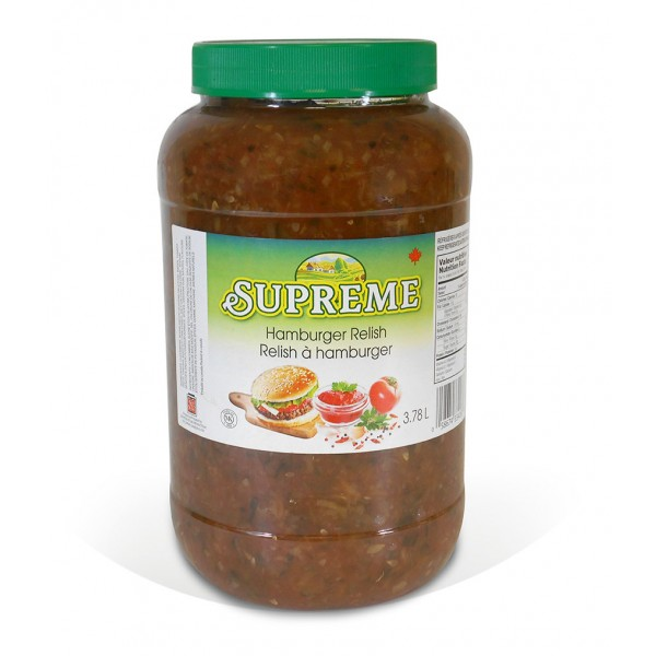 Hamburger Relish Supreme 3.78L