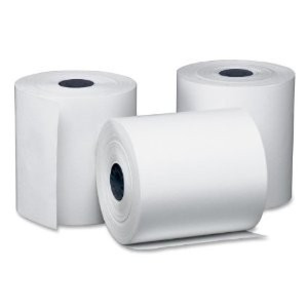 "Amber - TCR1 - Thermal Paper Rolls 3""X3"" 50/Case"