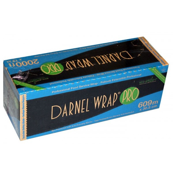 "Darnel - SDPJ12-2000F - 12""X2000' Food Wrap With Cutting Edge Dispenser 1 ROLL/Pack"