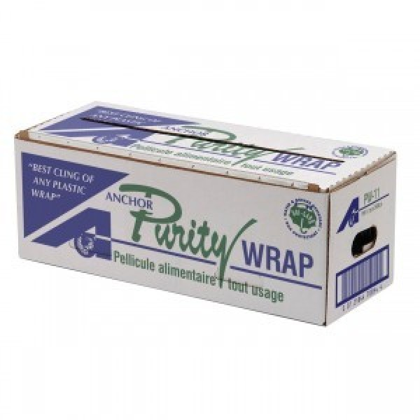 "Purity - PW-11 - 11""X2500' Food Wrap With Cutting Edge Dispenser 1 ROLL/Pack"