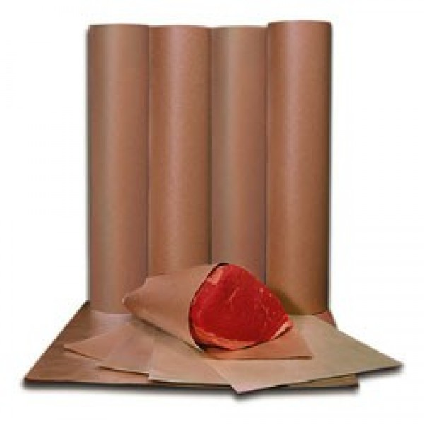 "Amber - 15""X900' - Freezer Paper Roll 1 ROLL/Each"
