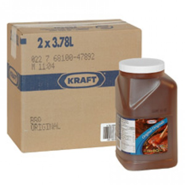 Kraft - BBQ Sauce Regular  2x 3.78L