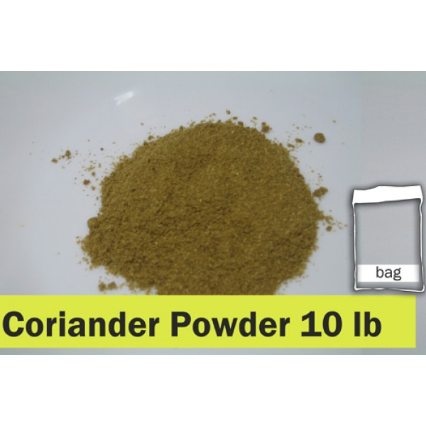 Coriander Powder 10lb Clear Bag