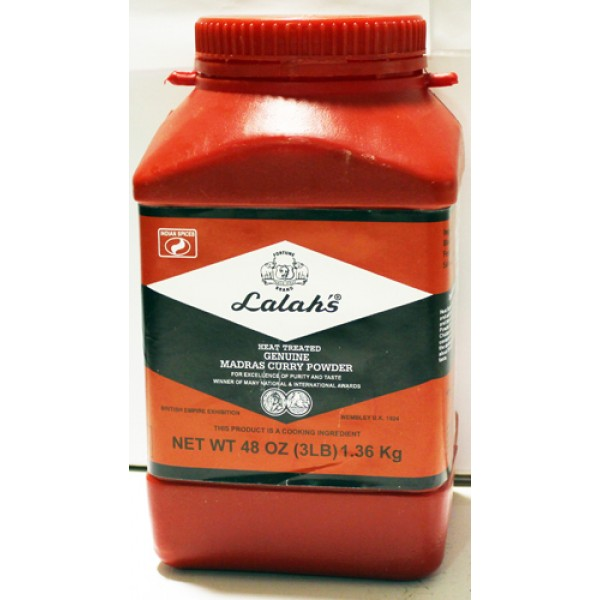 Lalah's Curry Powder 3lbs