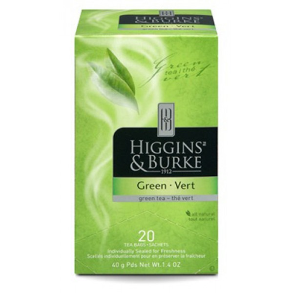 Higgins & Burke Green Tea 20's x 6