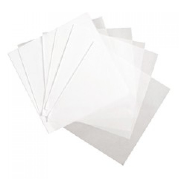 "Amber - 15""X24"" - Wax Paper, White 1000/Pack"
