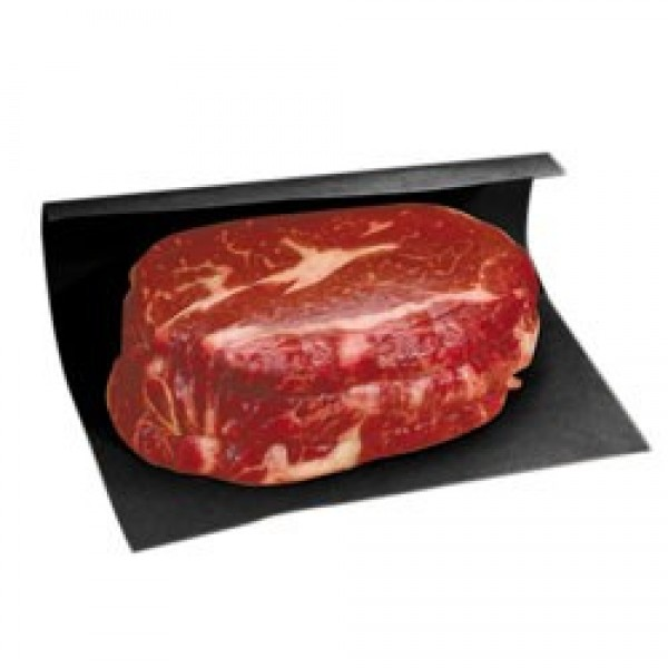 "Amber - 9""X12"" - Black Steak Paper Sheet 1000/Pack"