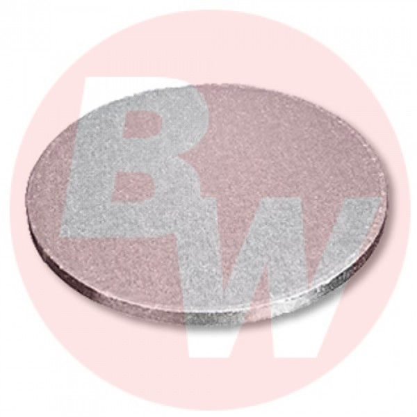 """Enjay - 1/2-16RS12 - 16"""" X 1/2"""" Thick Round Cake Board  - Silver 6/Pack"""