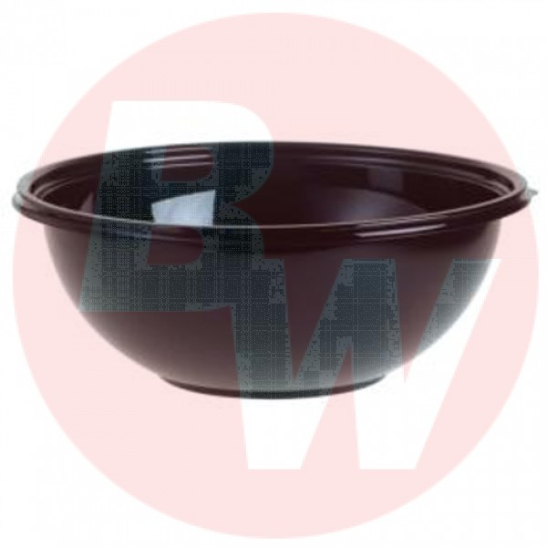 Sabert - 92320 - 320 Oz/20Lbs Bowls - Black - Pete 25/Case