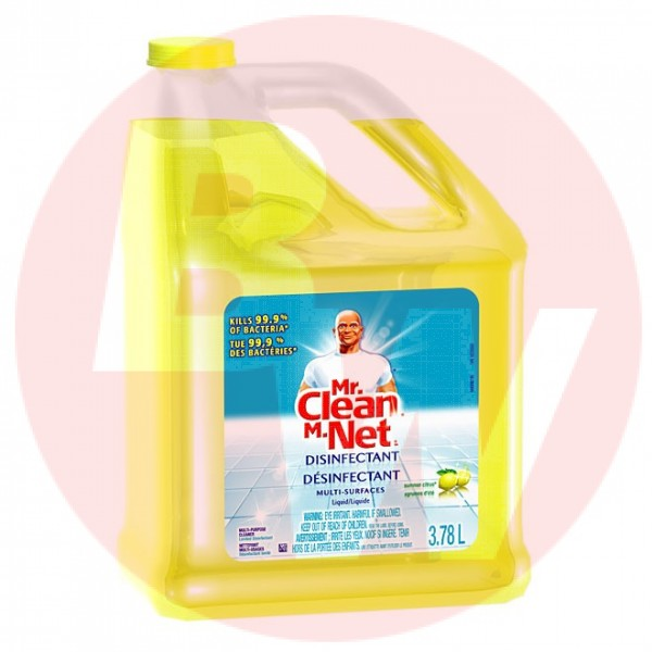 Mr. Clean - 02621 - Multi Surface Disinfectant 3.78L/Each
