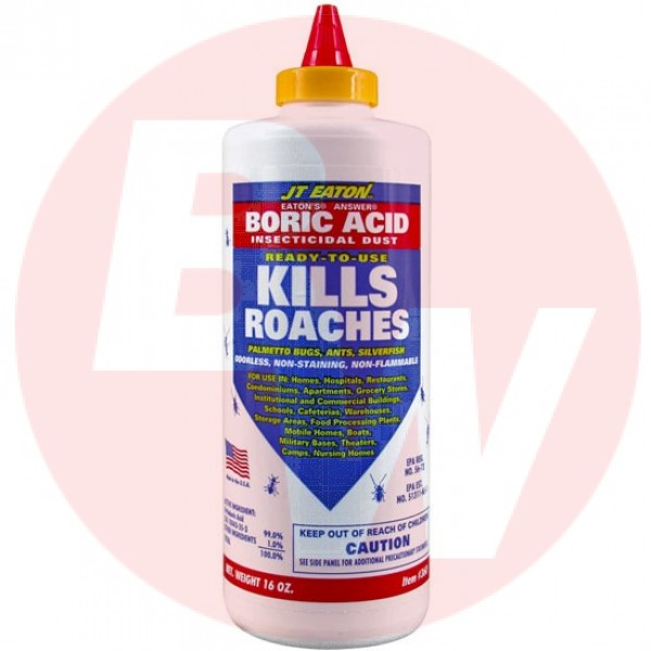 Jt Eaton - 360 - Roaches Boric Acid 16 OZ/Each