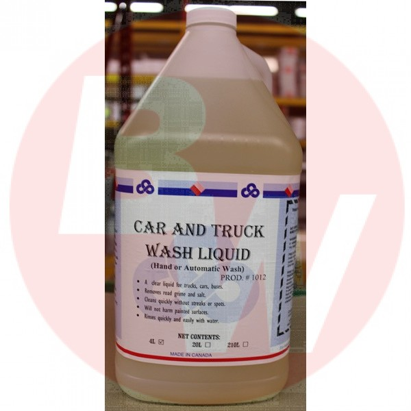 Crown - 1012.30 - Car & Truck Wash Liquid 4X4L/Case
