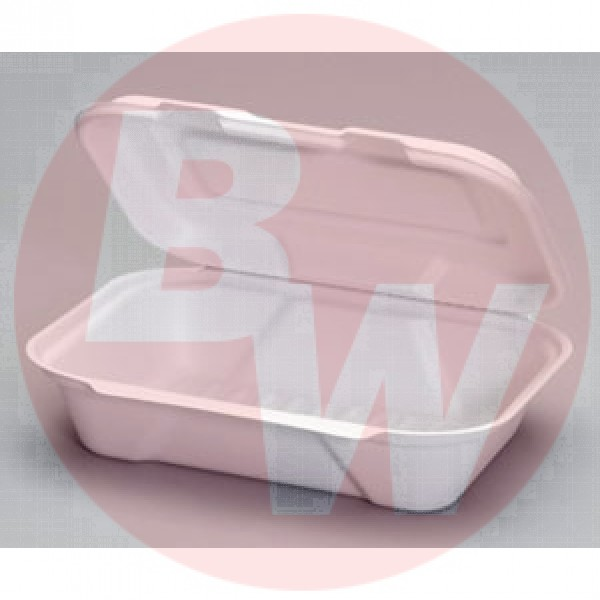 "Harvest Fiber - 9""X6""X3"" - 9""X6"" Rectangular Container Bagasse 200/Case"