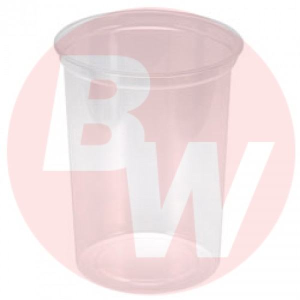 Maple Leaf - H2832 - 32 Oz Deli Container-Heavy, Clear 500/Case