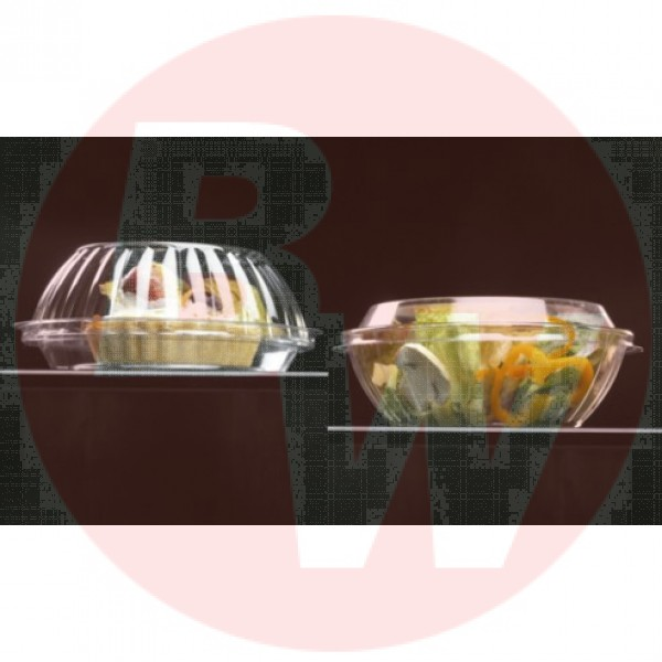 Darnel - D771600S - 16 Oz Clear Reversible Container Combo 200/Case