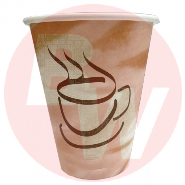 Gogo - PHC82050-CD - 8 Oz Hot Paper Cup Stock Print 1000/Case