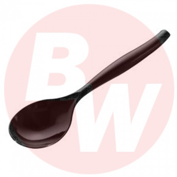 "Sabert - UBK72S - 10"" Serving Spoons Black 72/Case"