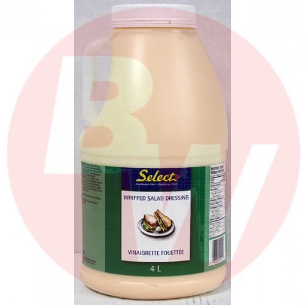 Select - Whipped Salad Dressing 2 x 4L