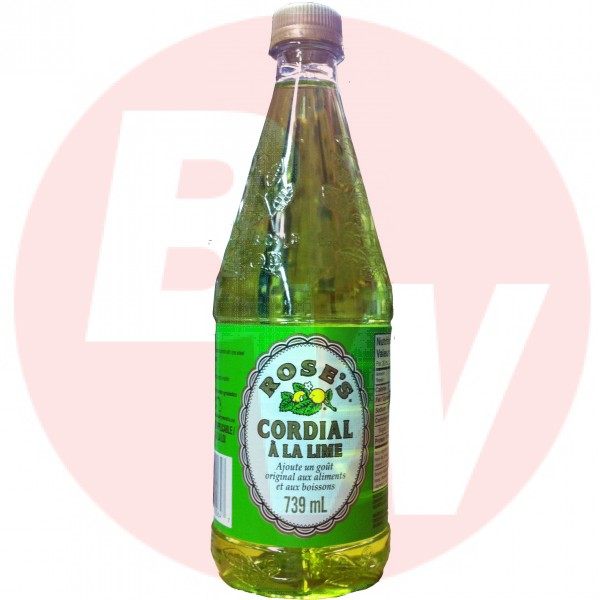 Rose's Lime Cordial 739ml