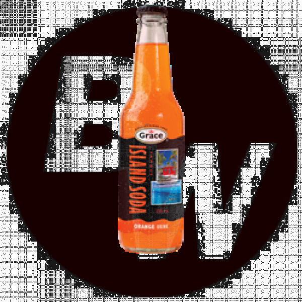 Island Soda - Orange 12 x 355ml