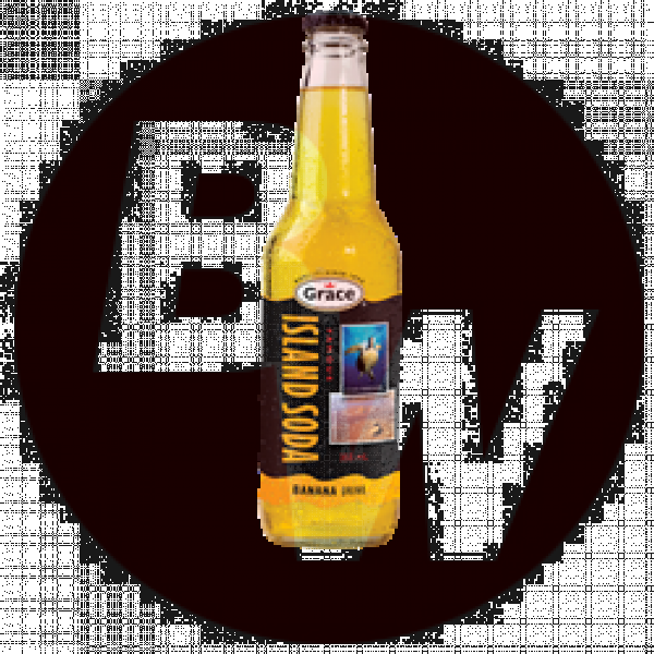 Island Soda - Banana 12 x 355ml