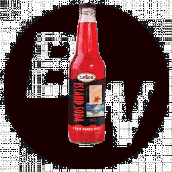 Island Soda - Fruit Punch 12 x 355ml