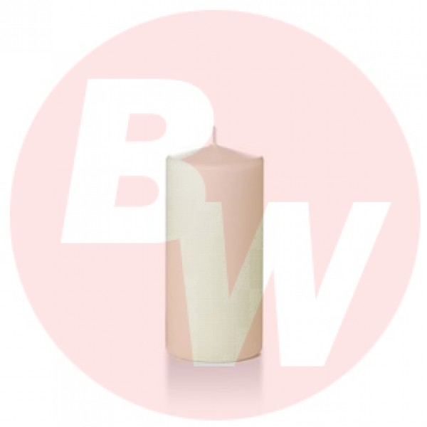 "Yummi - 31061 - Wax Candle 6""Hx2.8"" Pillars Ivory 3/Pack"