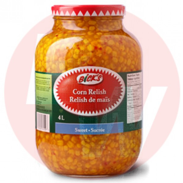Bick's - Sweet Corn Relish 4L