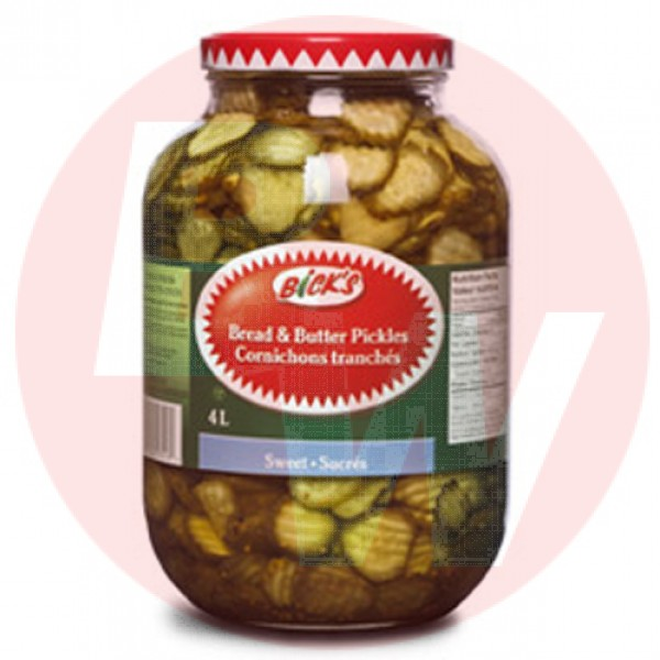 Bick's - Bread & Butter Pickles 4L