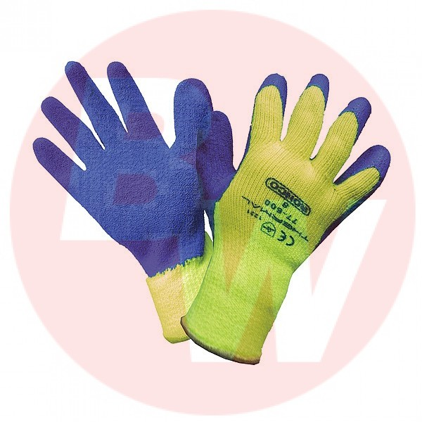 Ronco - 77-600-10 - Extra Large Thermal #77-600 Latex Coated Cold Resistant Gloves 12 PAIR/Pack
