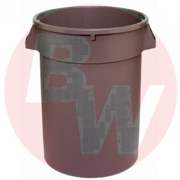 Dynapak - 20 Gallon Grey - Dyna Round Waste Container 1 UNIT/Each