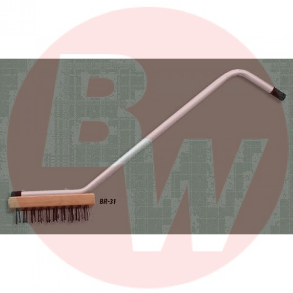 Winco - BR-31 - Commercial Broiler Brush With Handle 1/Each
