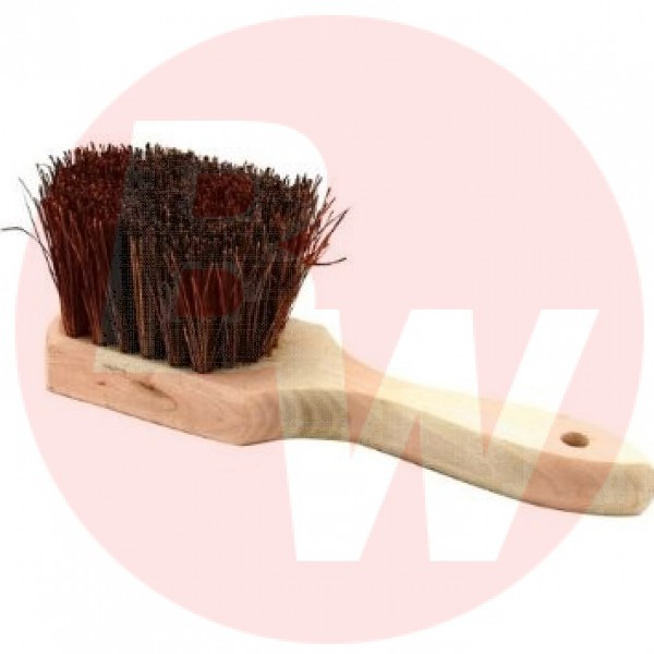 "Winco - BRP-10 - Pot Brush With Wood Handle, 10"" 1/Each"