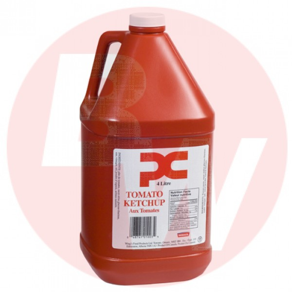 PC - Bulk Ketchup Jug Small Mouth 4L