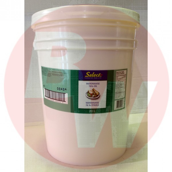 Select - Mayonaise 20 L PAIL