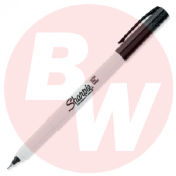 Sharpie - 37001 - Ultra Fine Black Permanent Marker - 12 / Pack
