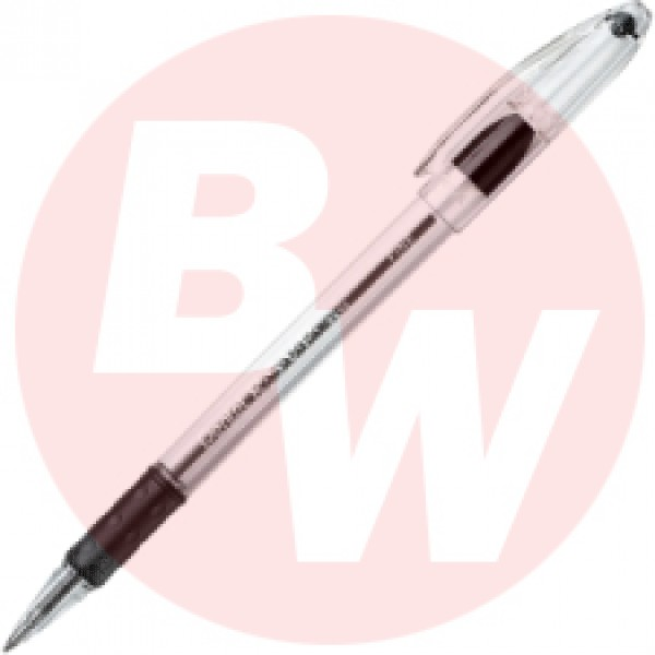 Pentel - RSVP - BK-90A - Black Ink Fine Line Pen - 12/Pack